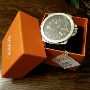 Mens Hugo Boss Orange Watch 1513375